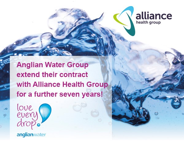 Alliance Health Group and Anglian Water Group