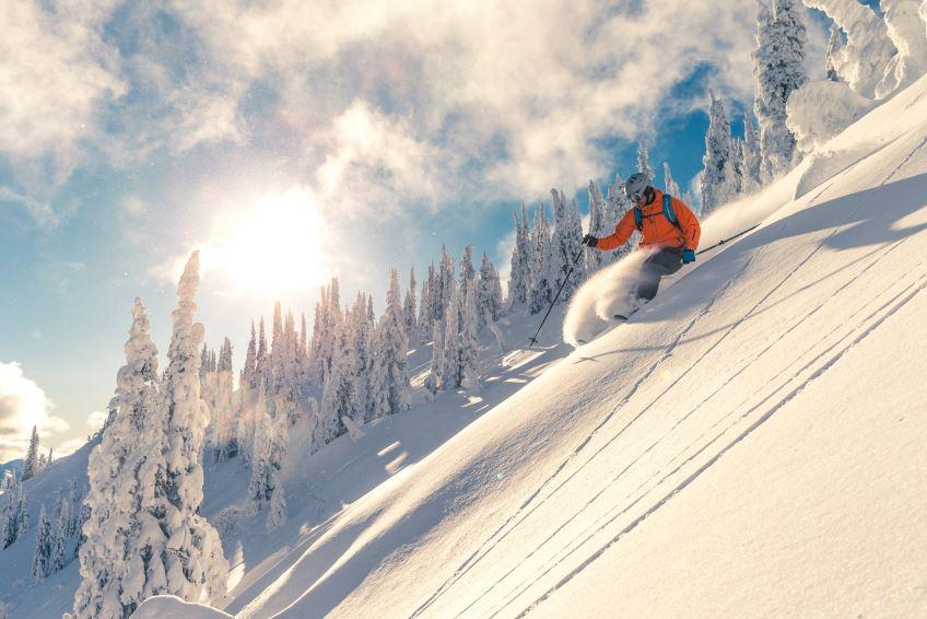 Knee related skiing injuries